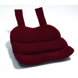 Obus Contoured Seat Cushion Burgundy (Bagged)