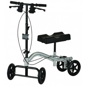 Turning Knee Walker Silver