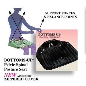 Bottoms Up Posture Seat Petite 16 Black