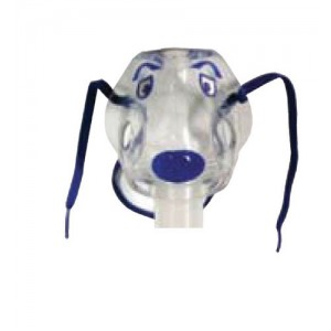 Disposable Nebulizer With Pediatric Spike Mask & 7' Tubing