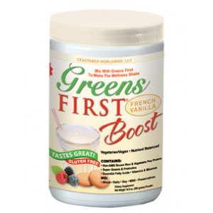 Greens First Boost - Vanilla, 10.5oz