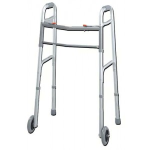 Easy-Release 2 Button Walker Youth With 3 Wheels