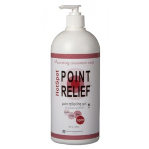 Point Relief HotSpot Pain Relief & Massage Gel 32ozPump