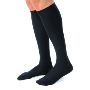 Jobst for Men Casual Medical Legwear 15-20mm High Large Black