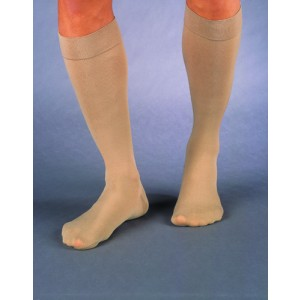 Jobst Relief 20-30 Knee High Black Large Full Calf Compression Therapy