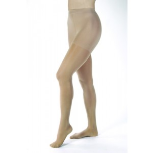 Jobst Opaque Pantyhose 30-40 Silky Beige Large