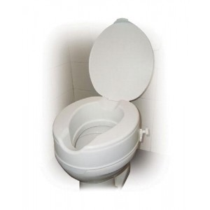 Raised Toilet Seat With Lid 4 Savannah-Style