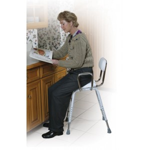 Kitchen (All-Purpose) Stool With Adjustable Arms