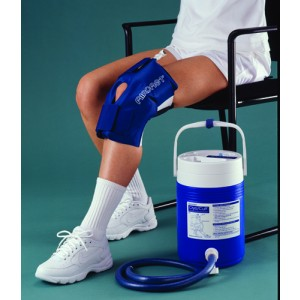 Aircast Cryo/Cuff System - Pediatric Knee & Cooler