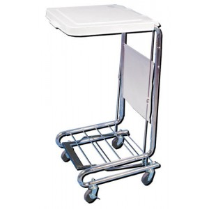 Hamper Stand-KD with Poly Coated Steel Lid