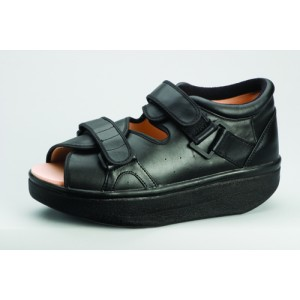 WCS Wound Care Shoe System X-Small Black