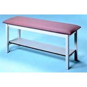 H-Brace Trmt Table With Shelf 27x72x31 With Adj Bkrst Nose Cut