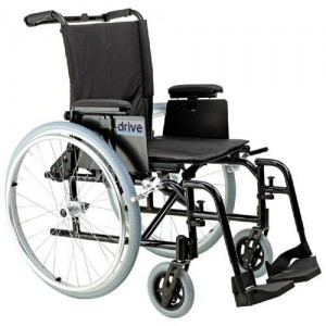 Wheelchair Ultralight Aluminum 16 Removable T Arms S/A Footrests