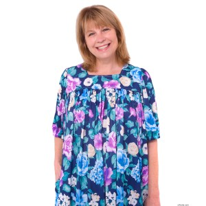 Womens Plus Size Moo Moo Dress - Full Figure Caftan Dress