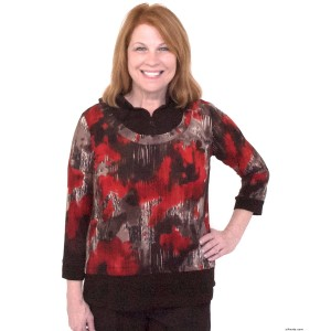 Adaptive Top - Womens Wheelchair Fashion For Disabled Adults