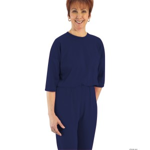 Womens Adaptive Alzheimer's Clothing Anti-Strip Suit