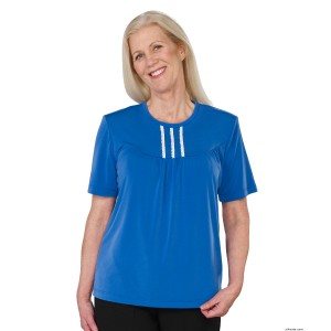 Womens Comfort Clothing Adaptive Top - Nursing Home Clothes Top