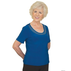 Fashionable Adaptive Top - Handicapped Clothing For Women