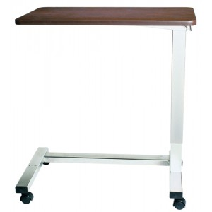Overbed Table Automatic With XL Top & Chrome H Base