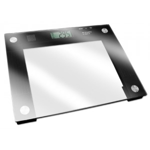 Talking X-Wide Glass Scale 550# Weight Capacity