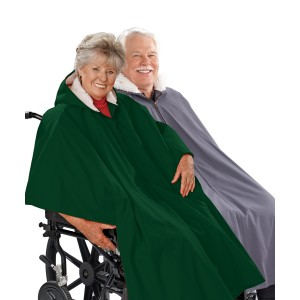 Mens Wheelchair Cape & Womens Wheelchair Cape Clothing Poncho Lined Cape