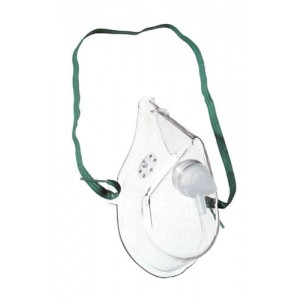 Oxygen Mask Adult With 7' Tubing Medium Concentration (Each)