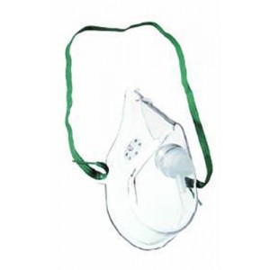 Oxygen Mask Pediatric With 7' Tubing Medium Conc (each)