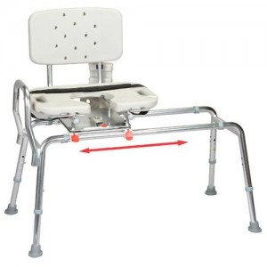 Transfer Bench Cut-Out Molded Swivel Seat/Back - Regular