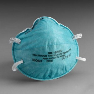 N95 Respirator and Surgical Mask Small (Case/6 Boxs X 20)