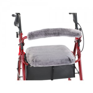 Seat & Back Cover For Rolling Walker Gray Dusk