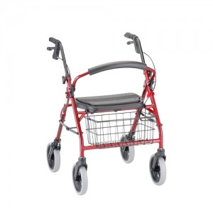 Cruiser Deluxe Roll Walker Red