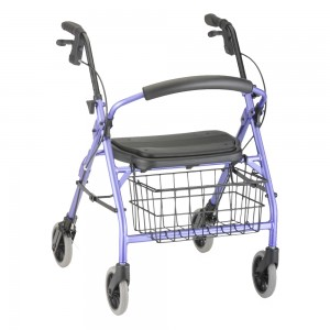 Cruiser Deluxe Jr Rolling Walker Purple