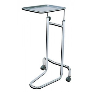 Mayo Instrument Stand With Double Post