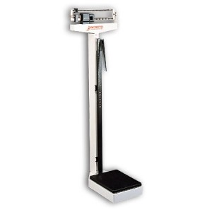 Doctors Beam Scale Lbs & Kg. With Wheels & Height Rod