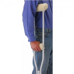 Crutch Cover Set - Fleece (2 Pairs A Set)
