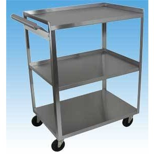 Stainless Steel Cart 3 Shelf With Handle