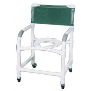 Shower Chair Wide Deluxe PVC Superior