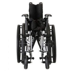 "Wheelchair Lightweight 16"" Flip Up Arms Swing Away Footrests"