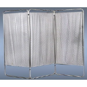 Screen 3-Panel King Size With Wheels