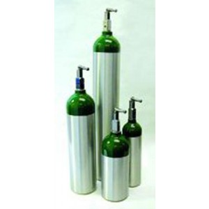 Oxygen 'E' Cylinder- 682 Liter With Toggle (28 H)