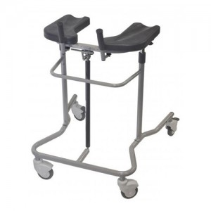 Eva Pneumatic Walker With Directional Casters Adult