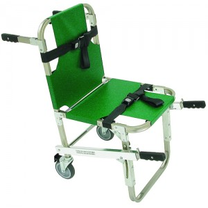 Evacuation Chair With 5 Wheels and Front & Back Handles