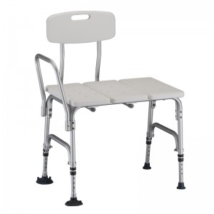 Bariatric Transfer Bench With Detachable Back