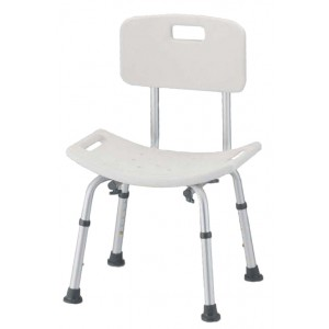 Bath And Shower Seat With Back