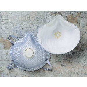 N95 Mask & Respirator Box/10 With Valve