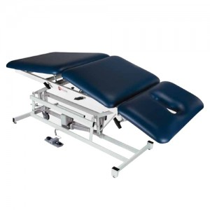 Treatment Table 3 Section With Contoured Face/Nose Opening