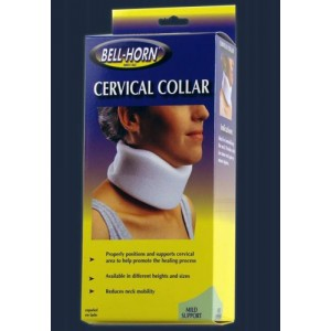 Cervical Collar With Stockinette 2.5 Height Medium 16 - 18
