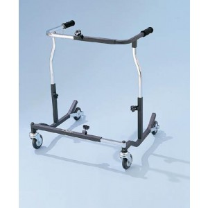 Bariatric Safety Rolling Adult Walker 1000 Lbs Weight Capacity
