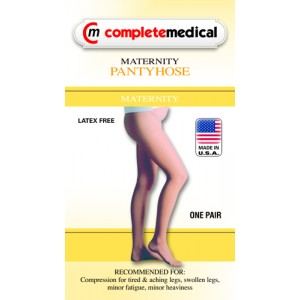 Firm Surgical Weight Maternity Panty Hose 20-30mm High Medium CT