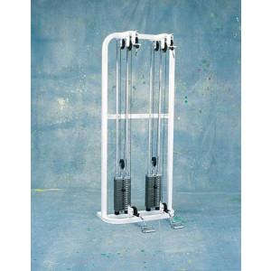 Wheelchair Double Wall Pulley System